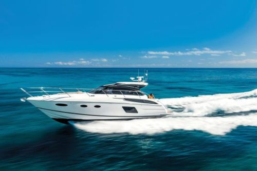 Princess V48 Open for sale in Menorca - Clearwater Marine